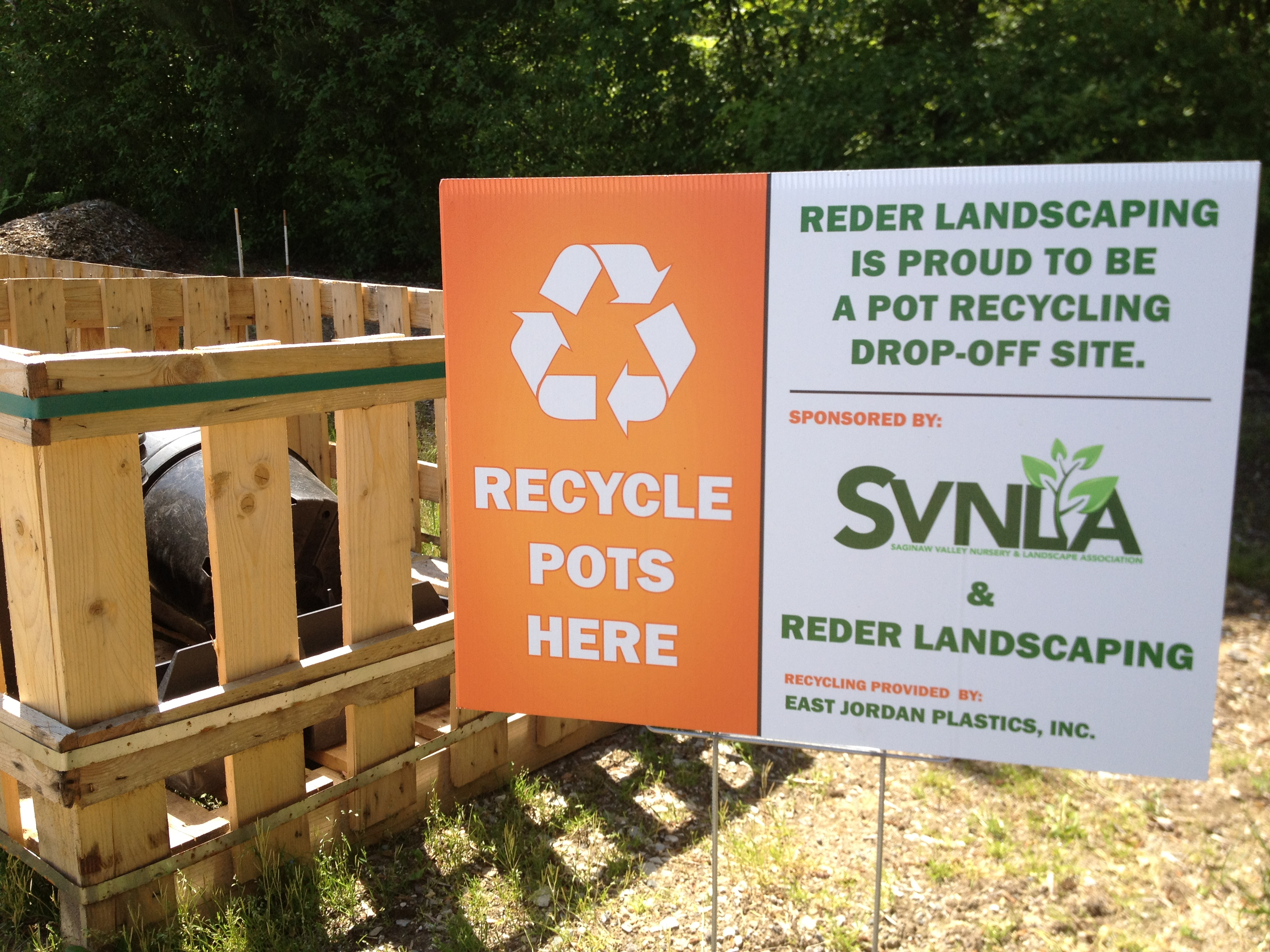 SVNLA Nursery Container Recycling Program