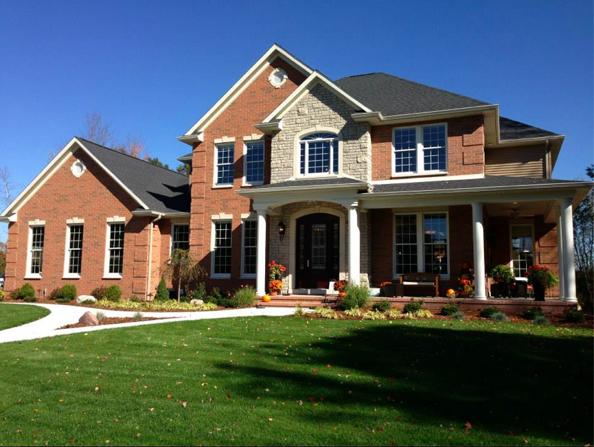Fall parade of homes images reder landscaping for Midland home builders
