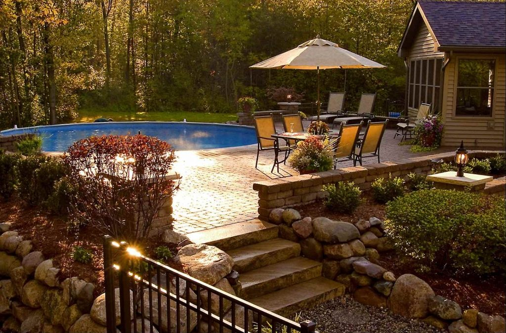 Raised Brick Paver Patios: The Ultimate Outdoor Living Room