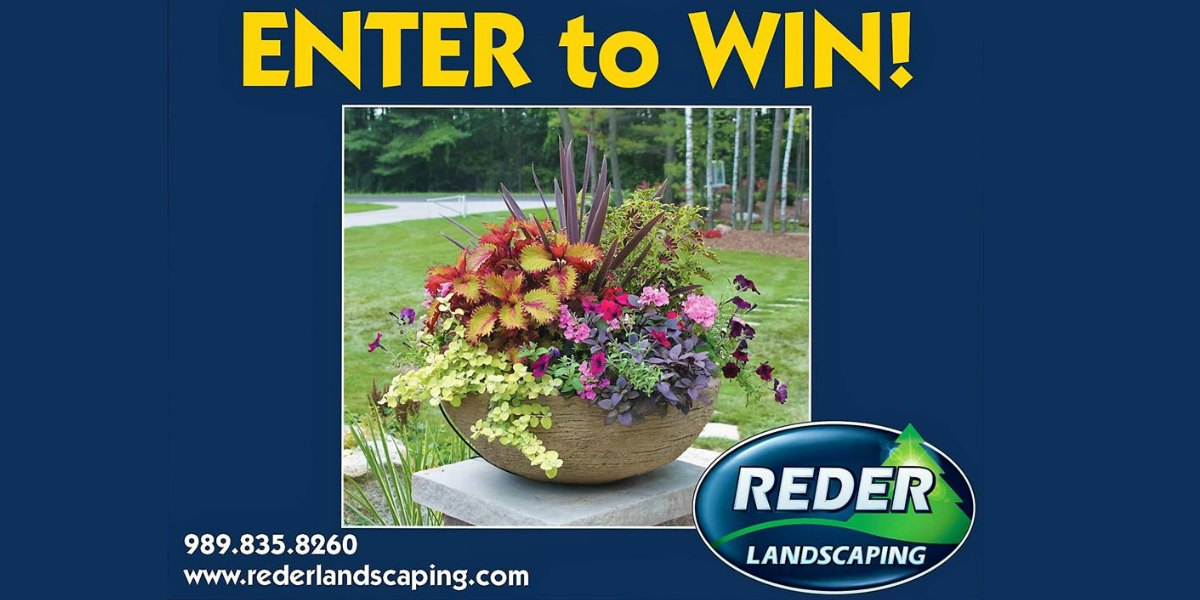 Win a Custom Container Garden at the Midland County Fair!