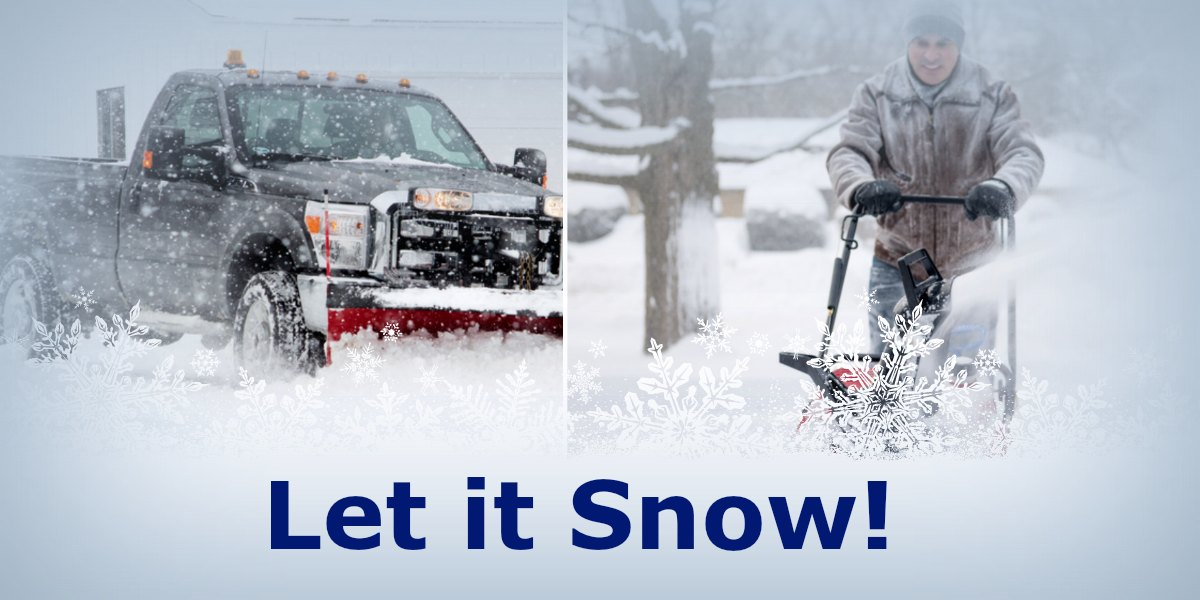 Announcing a New Reder Service…Snow Removal!