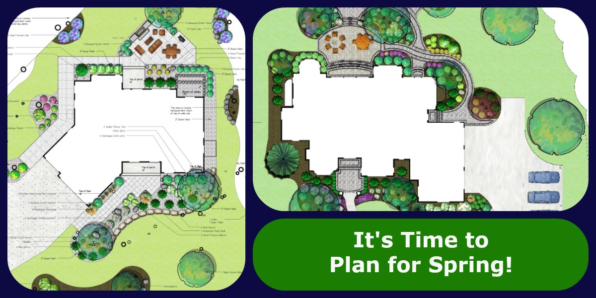 New Year's Resolution … Call a Reder Landscape Designer This Winter!