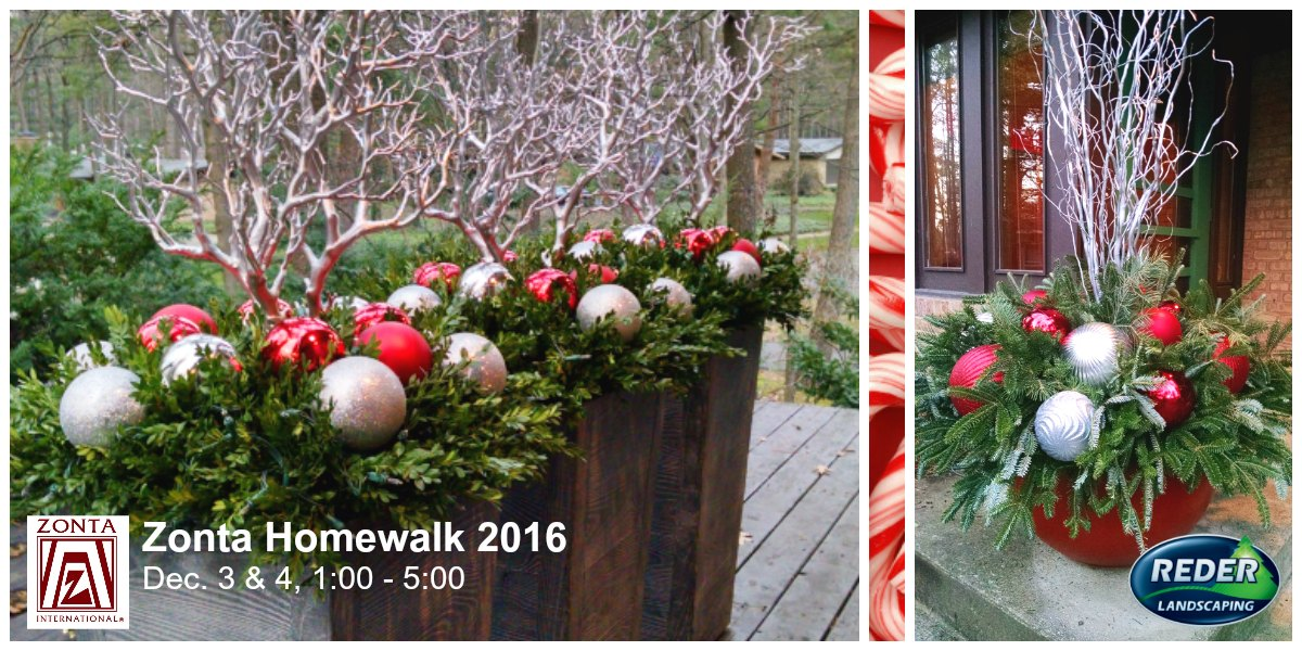 36th Annual Zonta Homewalk Features Holiday Decor of Reder's Kathy Frost