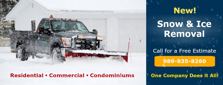 Commercial residential Snow Removal Service