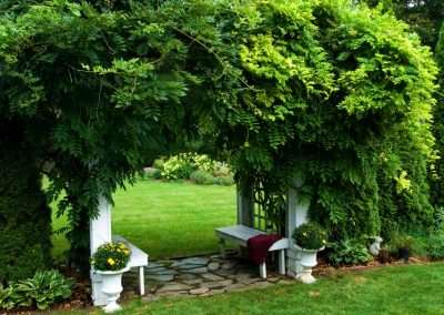 Deck Pergola Structure Landscape Design