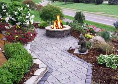 Fire Pit Landscape Design