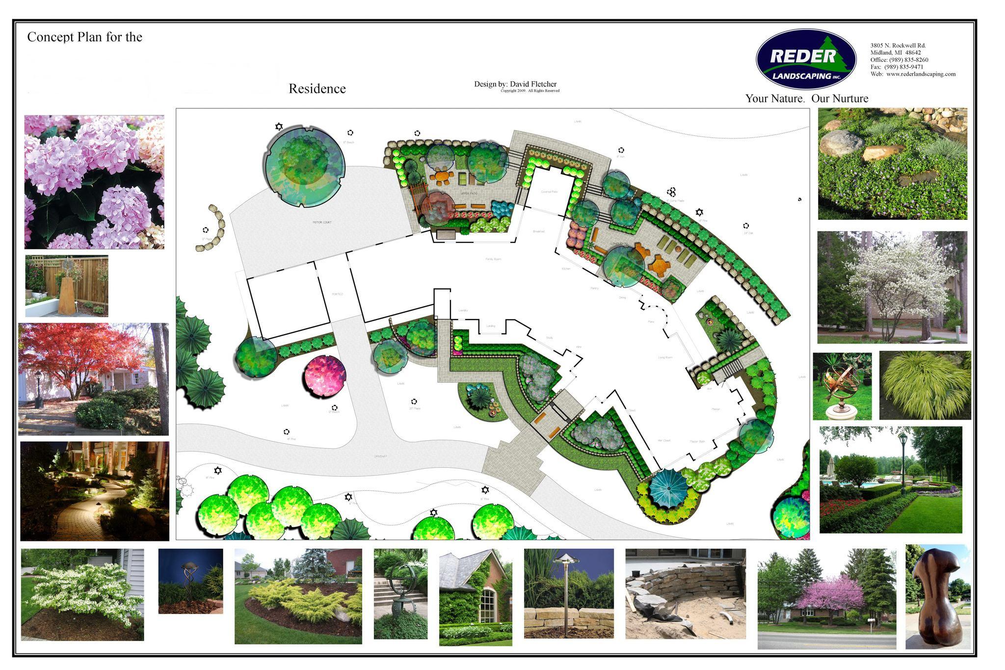 Landscape design commercial landscape residential landscape design build solutioingenieria Image collections