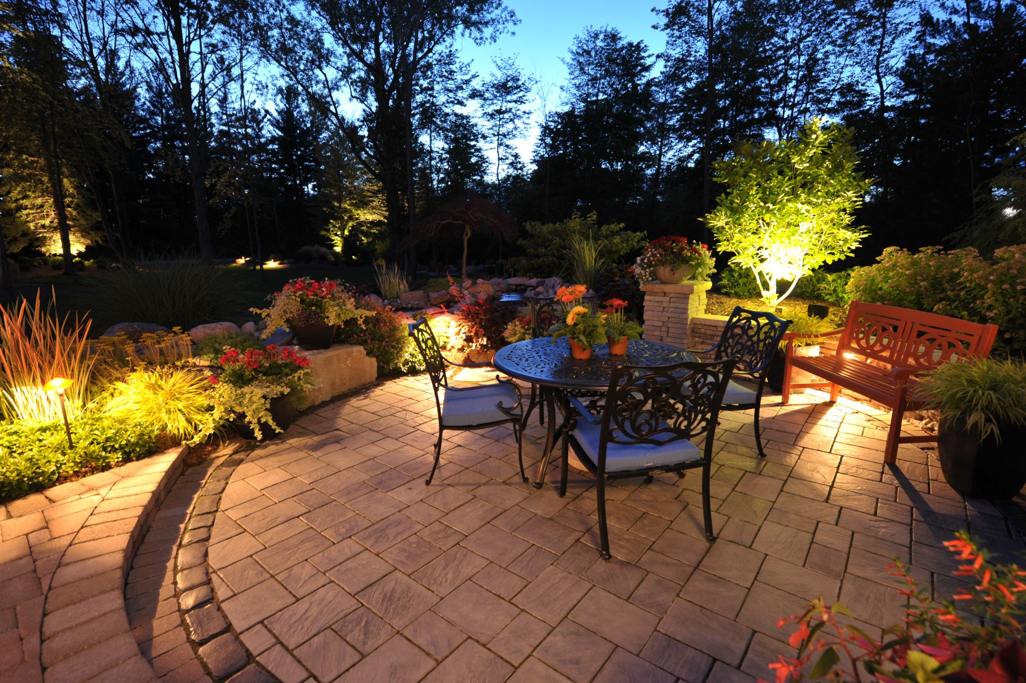 Landscape Lighting Ideas  Lawn Care Midland MI